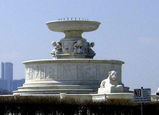 belle isle james scott fountain