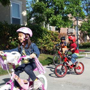 Kids on Bikes Thrilling Thursday
