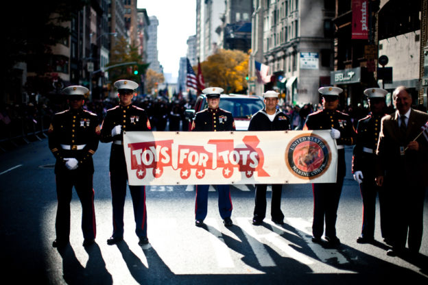Toys For Tots Usmc : Ways to give back this holiday season right here in mid