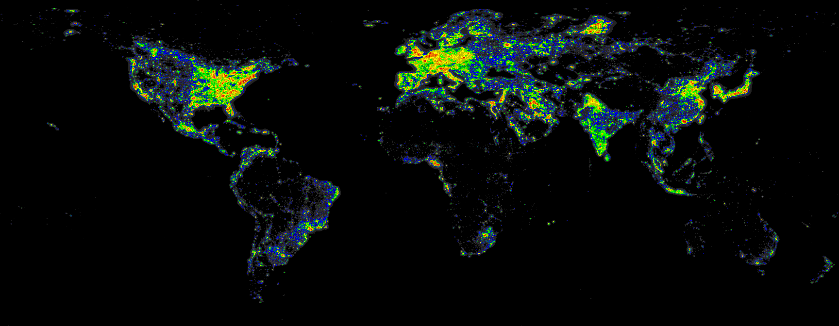 Light PollutionMaking Night Disapear My - Us light pollution map