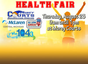 My Health Fair Presented by Morey Courts and My1043